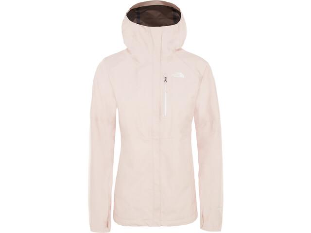 9098458c65f96e ... The North Face Dryzzle Jacket Damen pink salt. The ...